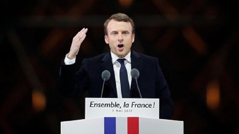 """ขุดประวัติ """"มาครง"""" ที่แท้อดีตนักบอลฝรั่งเศส"""