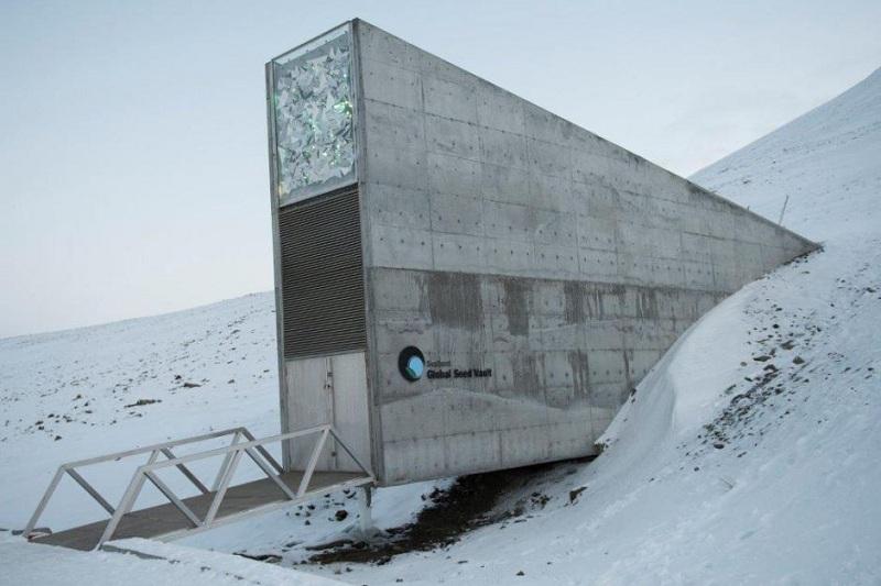 นอร์เวย์เสริมกำแพงป้องกันน้ำท่วมคลังเมล็ดพันธุ์พืชโลก