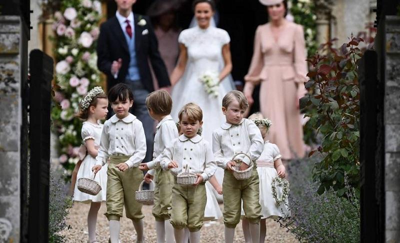 ทั่วโลกชื่นชมความน่ารักของพระโอรสพระองค์น้อยในงานแต่งปิ๊ปปา