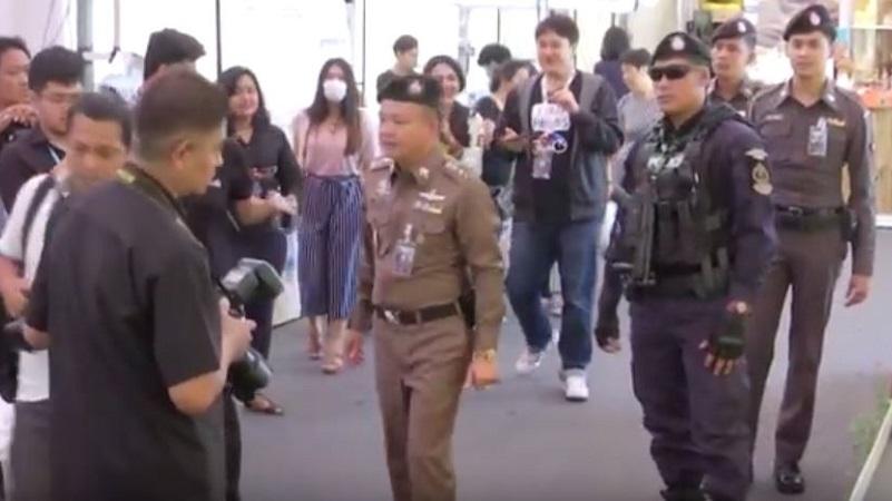 ตำรวจ-ทหาร รักษาความปลอดภัยเข้มหลังระเบิด รพ.พระมงกุฎเกล้า (คลิป)