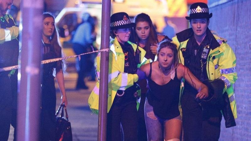 เหตุระเบิดกลางคอนเสิร์ตที่สนามแมนเชสเตอร์อารีน่า ตาย 19 ศพ บาดเจ็บกว่า 50 คน