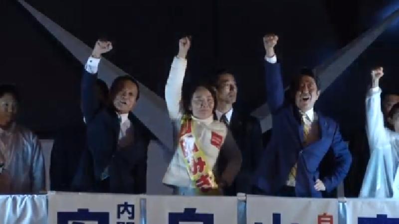 เอ็กซิตโพลชี้รัฐบาลญี่ปุ่นชนะเลือกตั้งขาดลอย