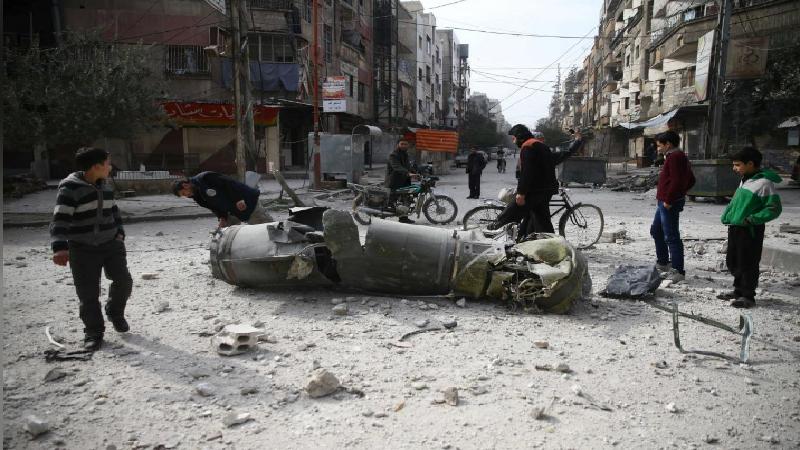 สลด เด็กตายเกลื่อนนับร้อย ซีเรียไม่สนถล่มหนักพื้นที่กบฏ