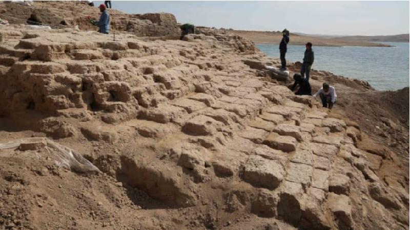 น้ำแห้งวังโบราณ 3,400 ปี อิรักโผล่